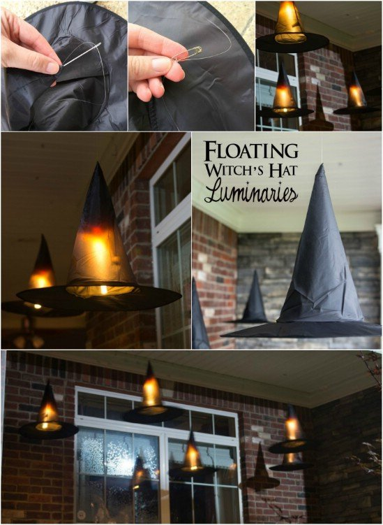 The best diy halloween decorations witch costume 3 very easy halloween decorations solutioingenieria Choice Image