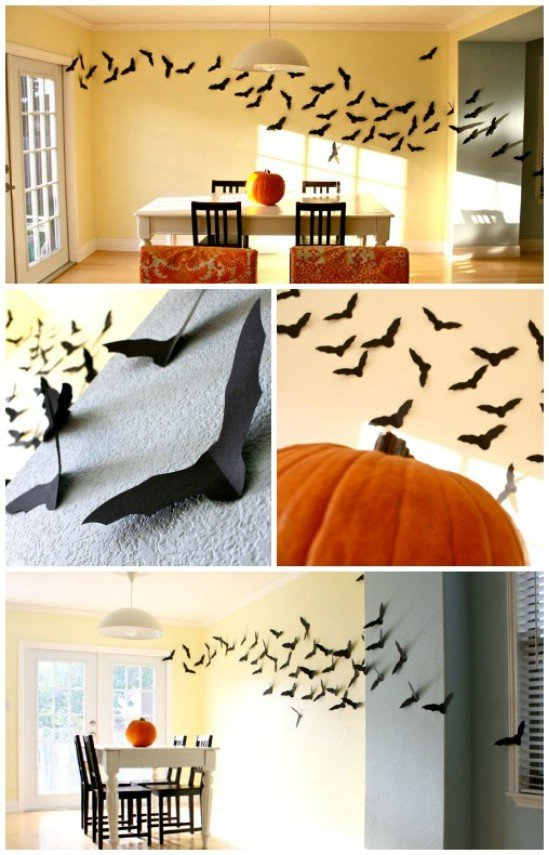The best diy halloween decorations you can turn your whole house into a jack o lantern put a paper made face on one of the windows and thats pretty all solutioingenieria