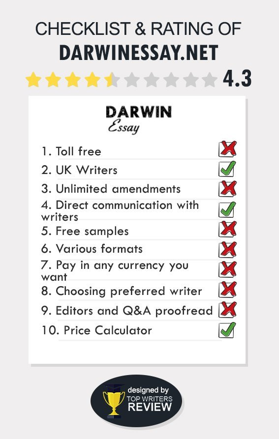 Darwin Essay Review