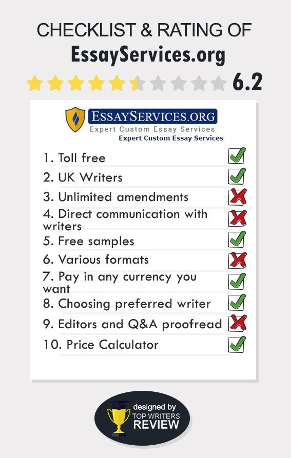 EssayServices Review by TopWritersReview