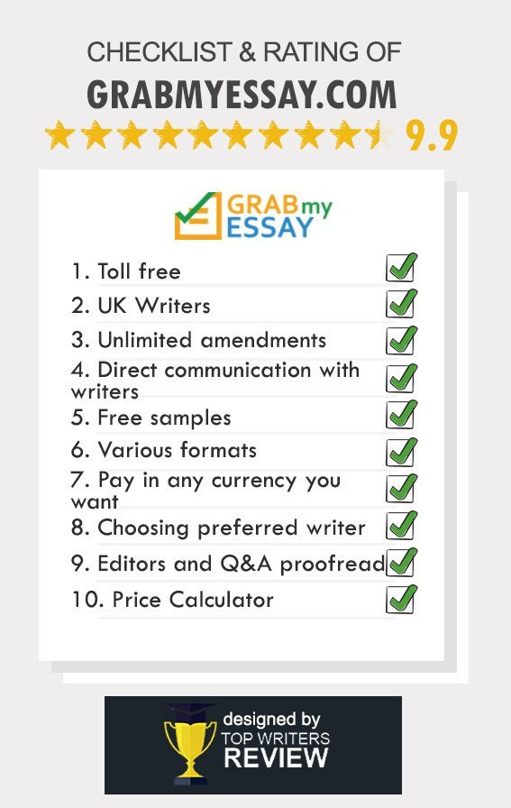 grabmyessay com benefits testimonials coupon codes review of grabmyessay by topwritersreview