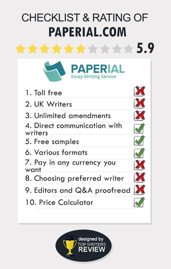 Paperial Review by TopWritersReview
