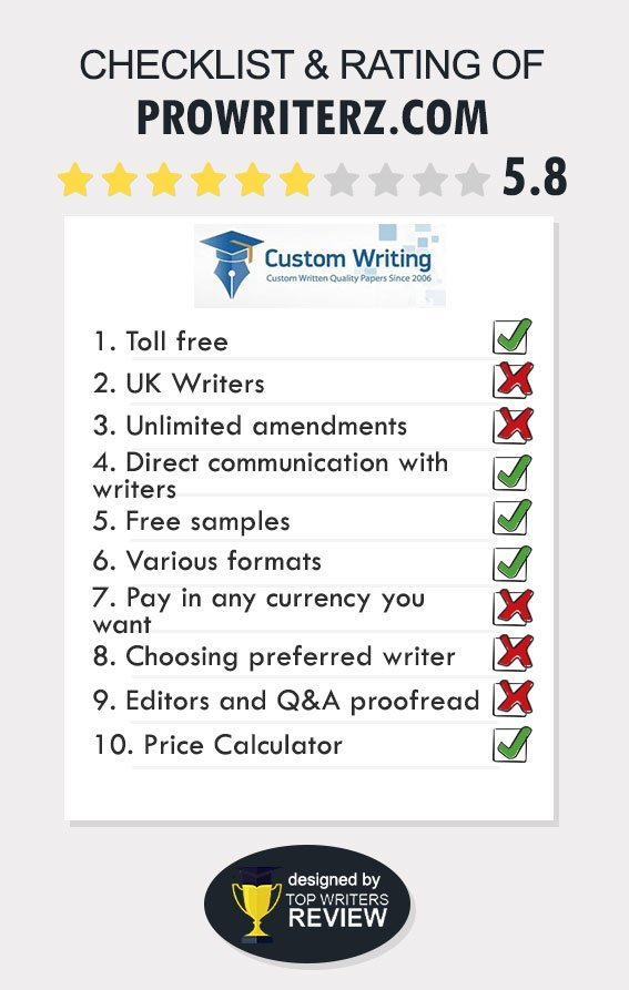 ProWriterz Review by TopWritersReview