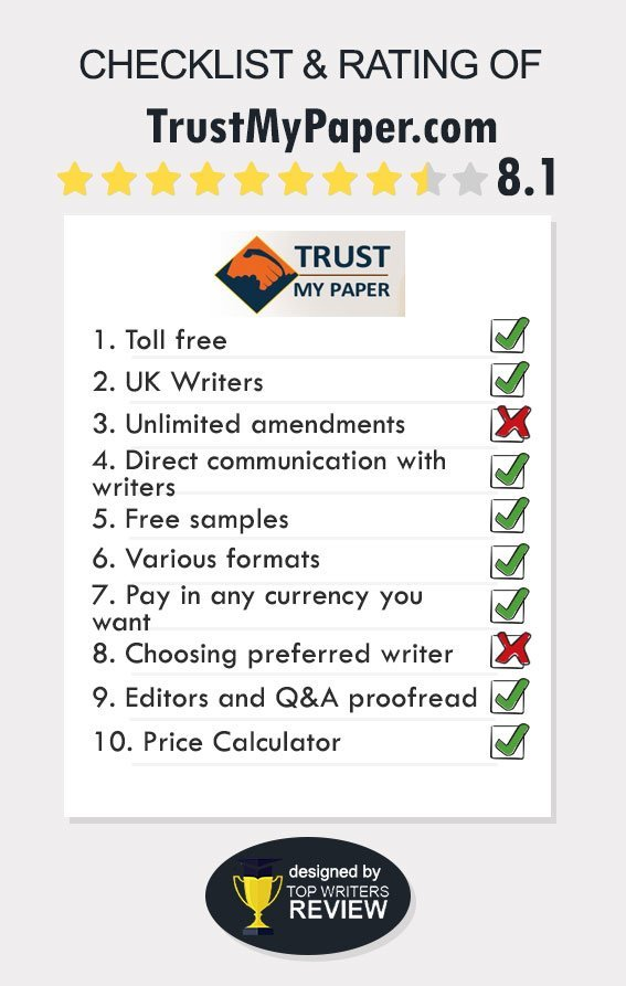 Review of Trustmypaper by TopWritersReview