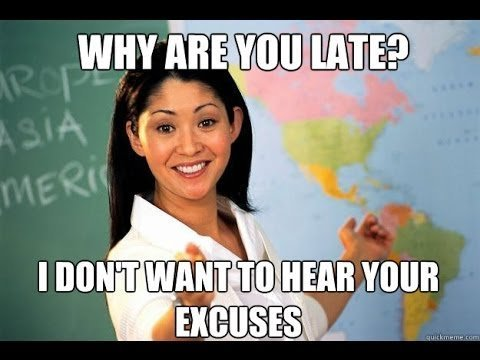 The Best Excuses for Being Late for School