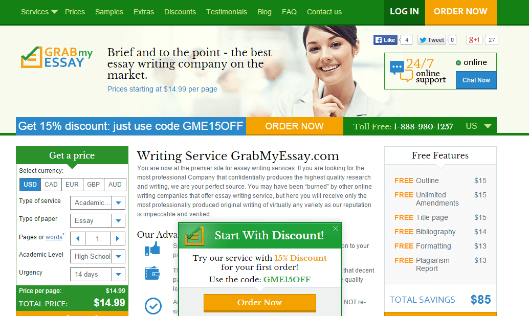Essay writings company